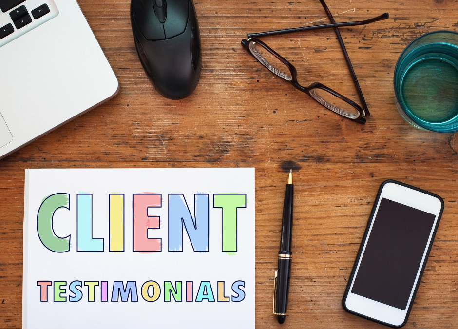 How to ask for patient testimonials